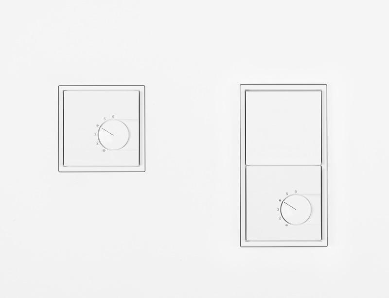 temperaturregler f r schalterprogramm jung ls zero. Black Bedroom Furniture Sets. Home Design Ideas